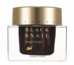 HOLIKA Prime Youth Black Snail Repair Cream - krem ze śluzem czarnego ślimaka