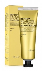 BENTON Shea Butter and Coconut Hand Cream - odżywczy krem do rąk