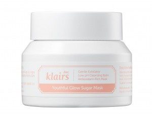 KLAIRS Youthful Glow Sugar Mask - peeling/maska do twarzy