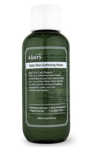 KLAIRS Daily Skin Softening Water - peelingujący tonik do twarzy