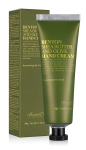 BENTON Shea Butter and Olive Hand Cream - krem do rąk z masłem shea i oliwką