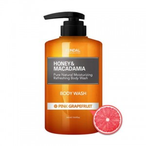 KUNDAL Honey&Macadamia Body Wash Pink Grapefruit - żel pod prysznic grejfrut