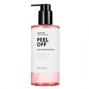 MISSHA Super Off Cleansing Oil Peel Off - skóra pozbawiona blasku