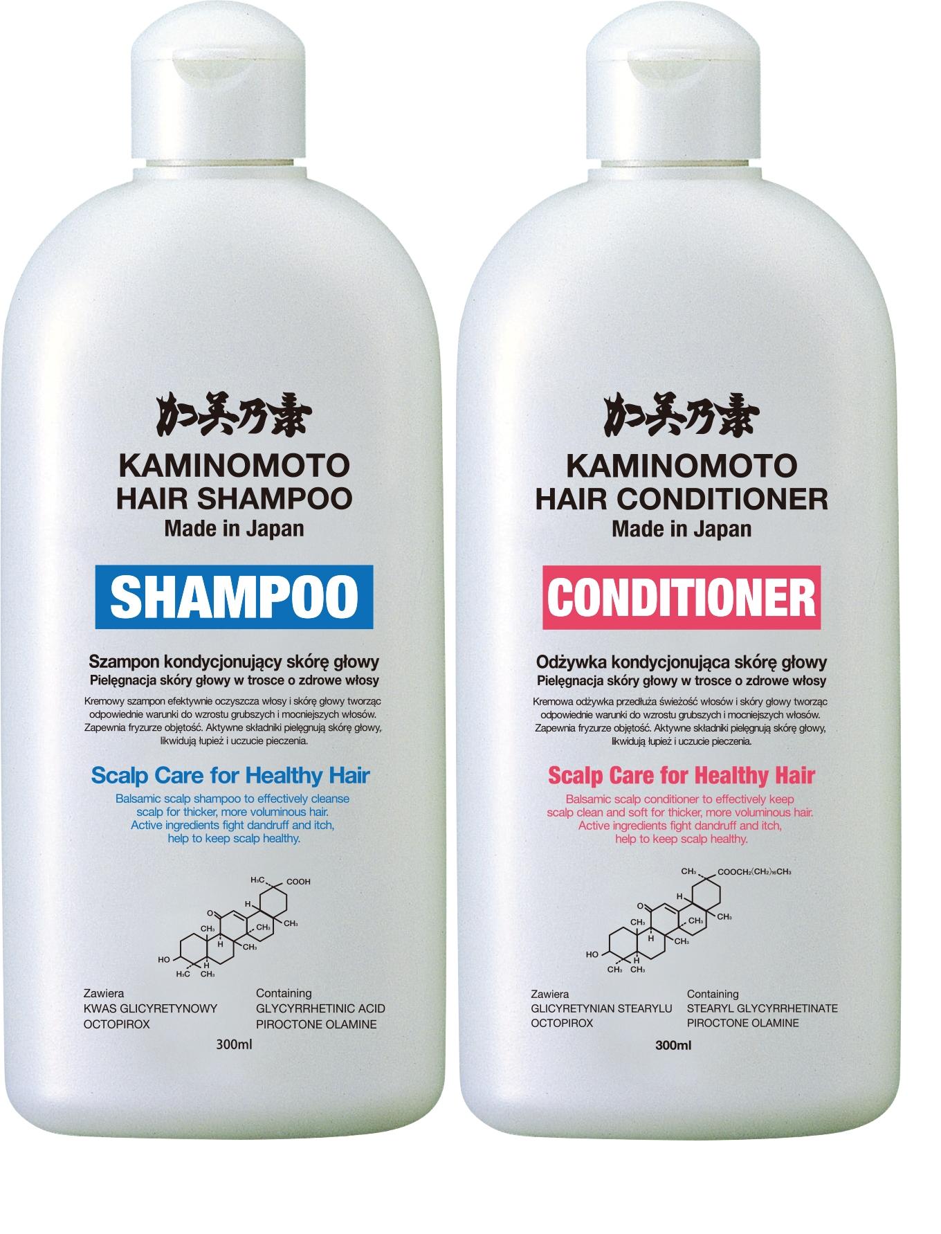 Kaminomoto Zestaw Szampon Odywka Sachi Oryginalne Koreaskie Hair Tonic I